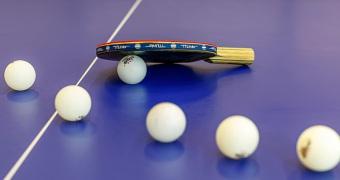 """2009 首届""""易胜博ysb88客户端体育杯""""乒乓球联谊赛"""